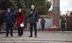КРАСНОДАР. День освобождения территории Староминского района от немецко-фашистских захватчиков