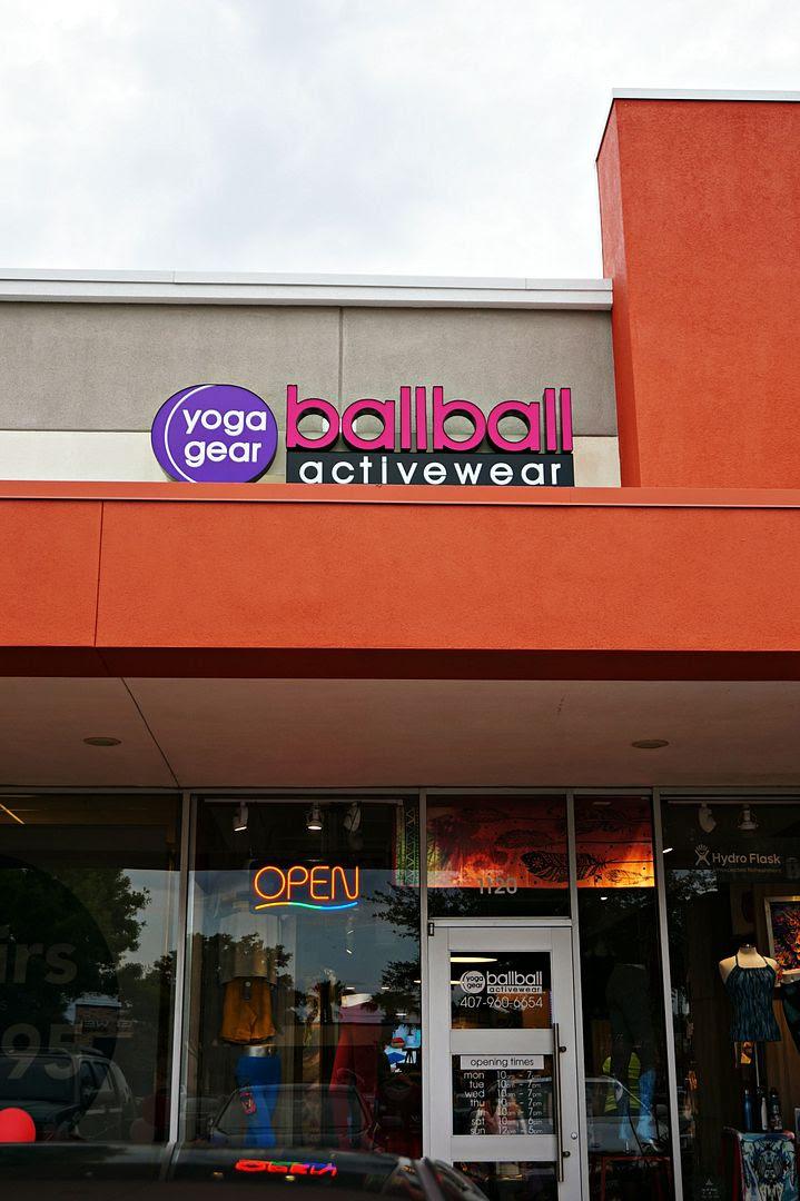 ballball yoga