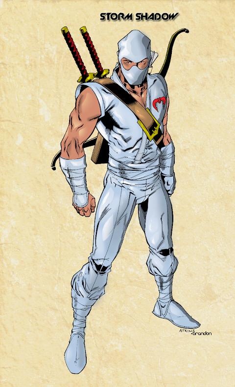 Gi Joe Storm Shadow Comic