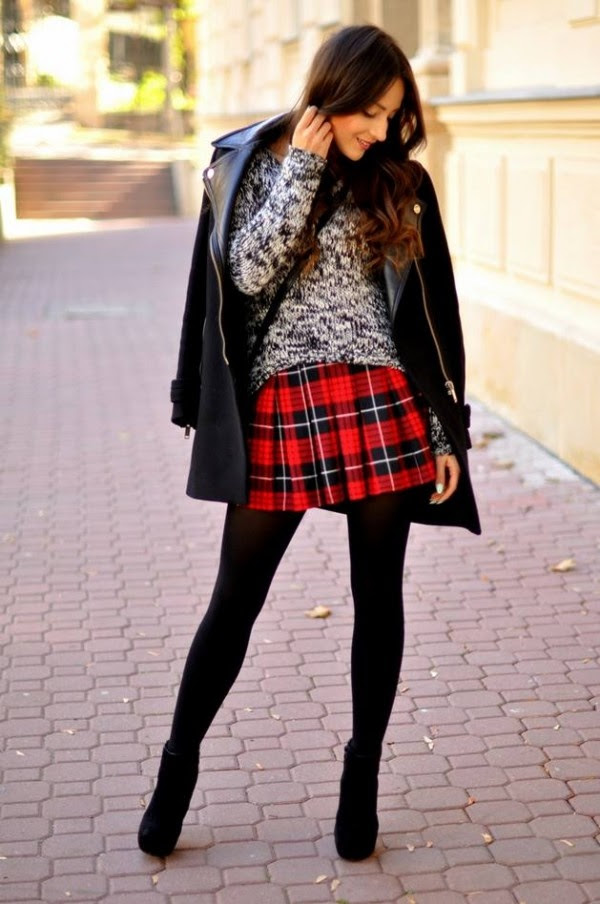 107 plaid outfits how to wear