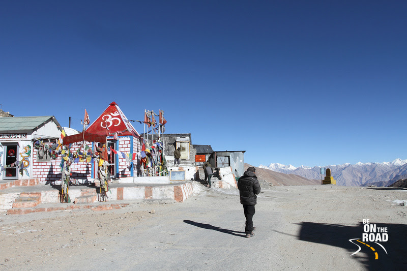 Enjoying the vistas at Khardungla