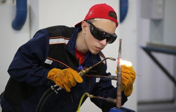 ВОЛГОГРАД. Бочаров встретился с участниками регионального чемпионата Worldskills
