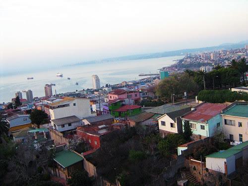 View of Valparaiso from the top of La Sebastiana 3