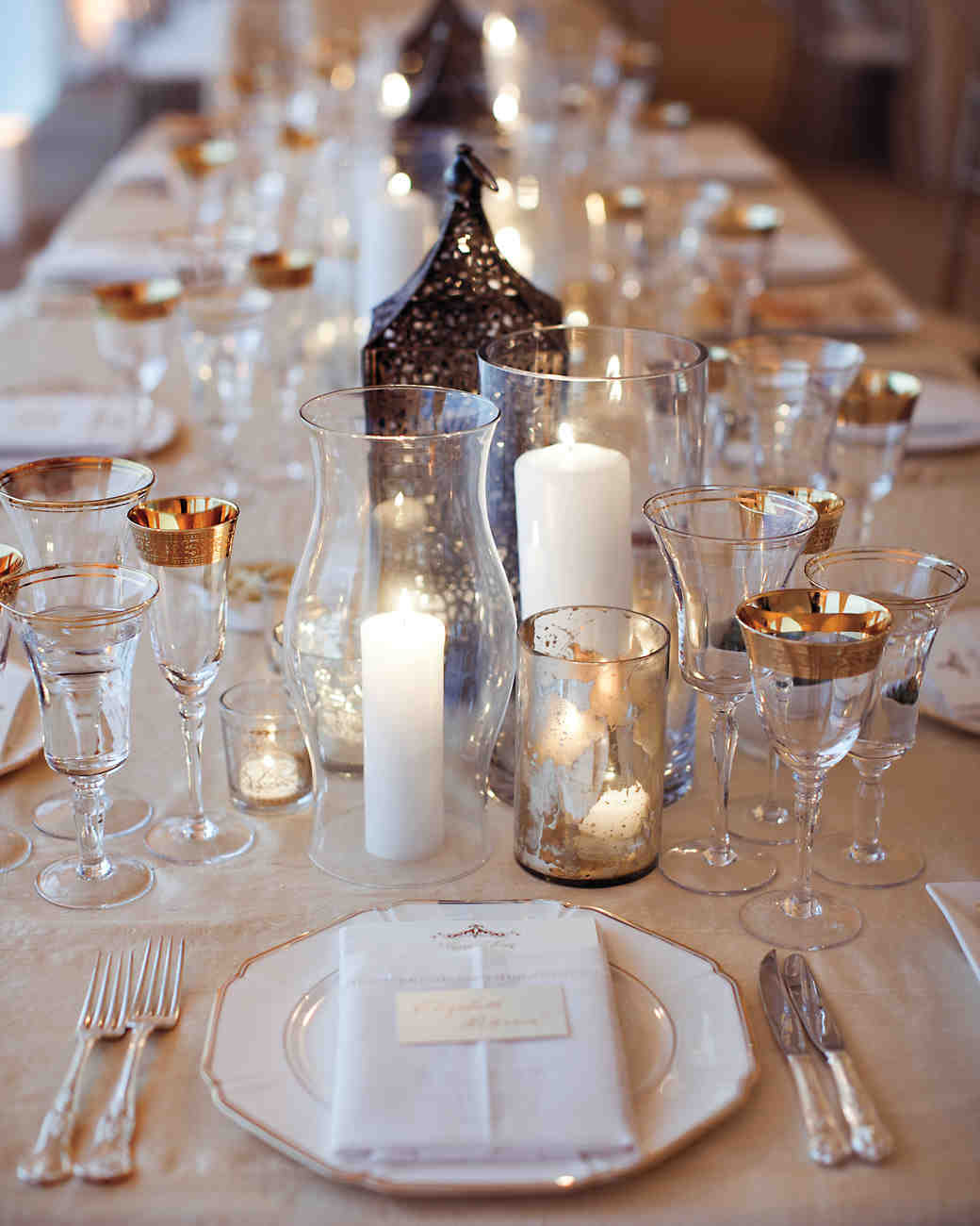 84 Candle Centerpieces That Will Light Up Your Reception ...