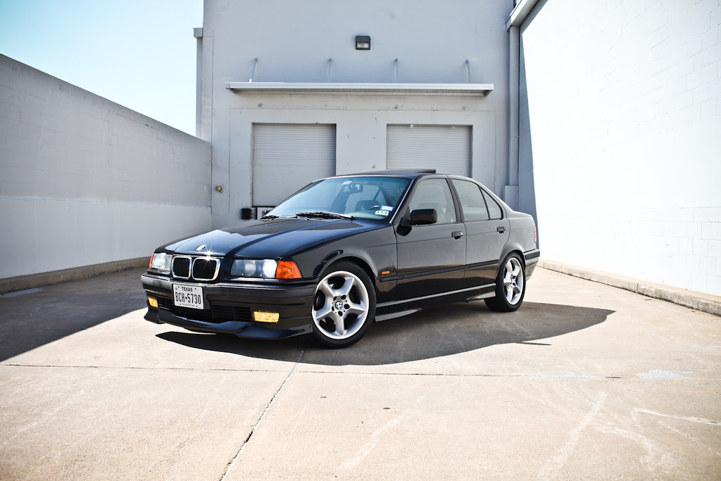 E36 1997 BMW 328i Sport Sedan BLK/GREY 5-speed manual ...