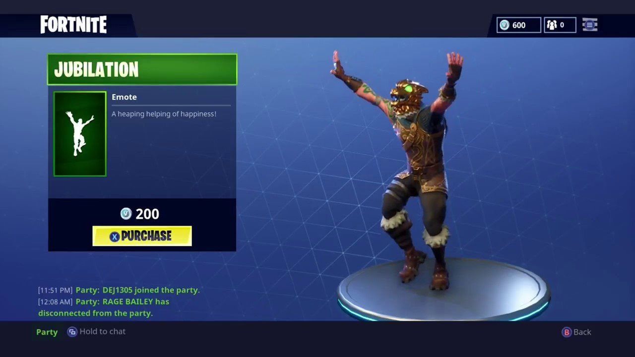 Fortnite Jubilation Emote: What It is, How to Get It, More ...