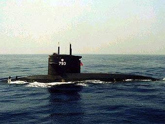 Подлодка ВМС Тайваня. Фото с сайта fas.org