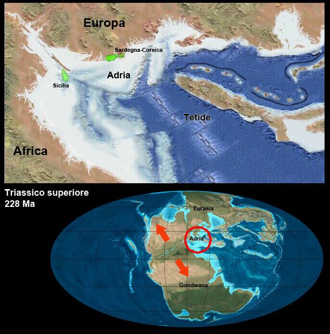 Italia nel Triassico