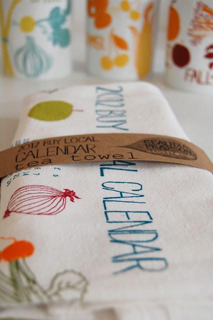 2012 Calendar Tea Towel