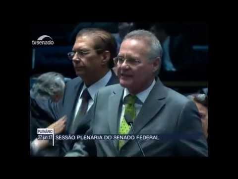 VÍDEO: Renan Calheiros e Garibaldi Filho batem-boca no Senado