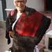 Mr Ali Mohammad Isha Khatri modeling marriage shawl