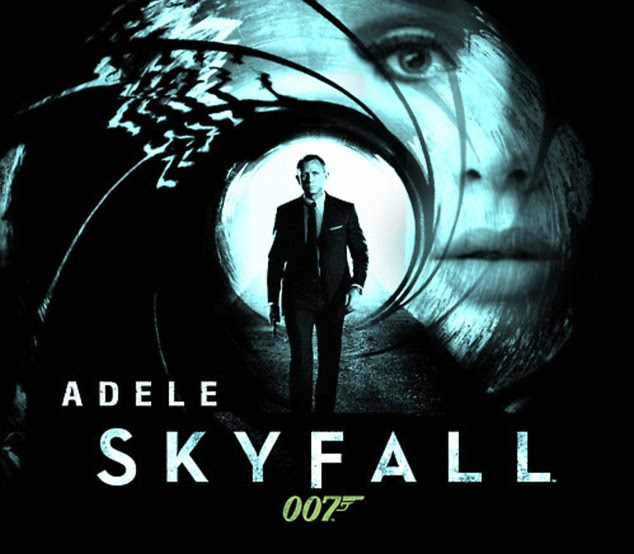 She's back! Adele has handed her stunning vocals to the official theme tune for the new Bond movie Skyfall