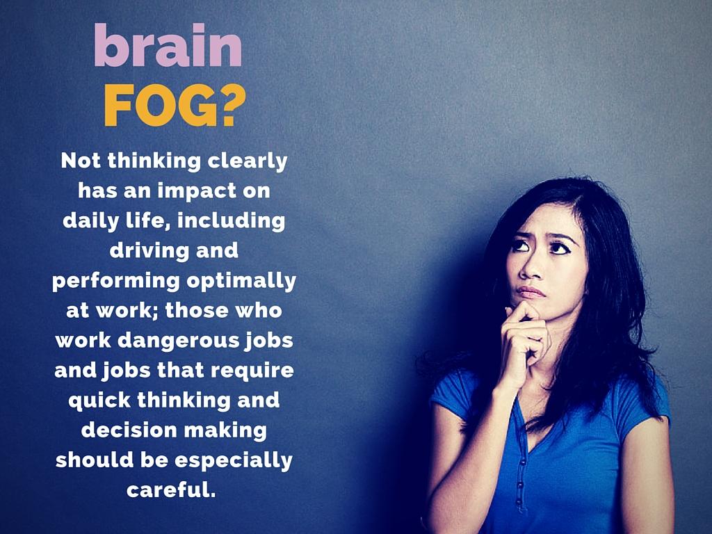 What causes brain fog?