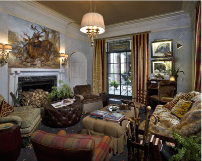 A modern day cabin-like Baratheon home decor... - Home of Thrones