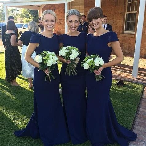 17 Best ideas about Navy Bridesmaid Dresses on Pinterest