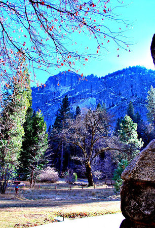 View from the Ahwahnee Hotel