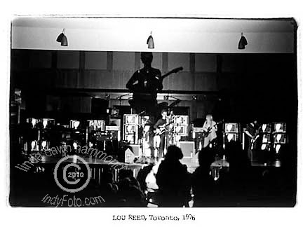 Lou Reed stage