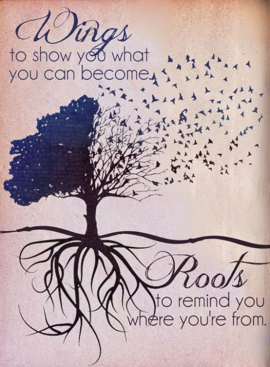Use Your Wings Never Forget Your Roots Moveme Quotes