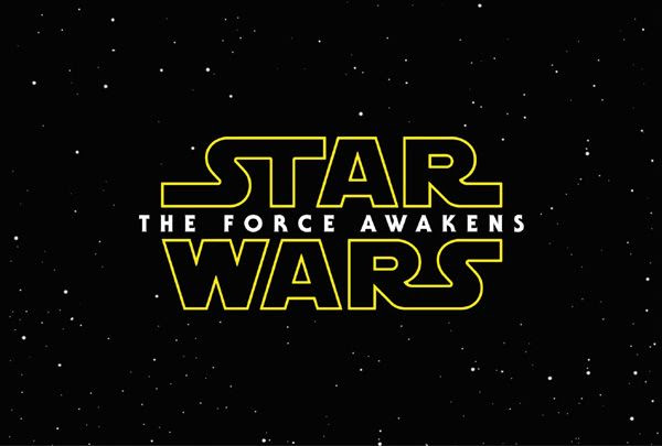 The main logo for STAR WARS: EPISODE VII - THE FORCE AWAKENS.