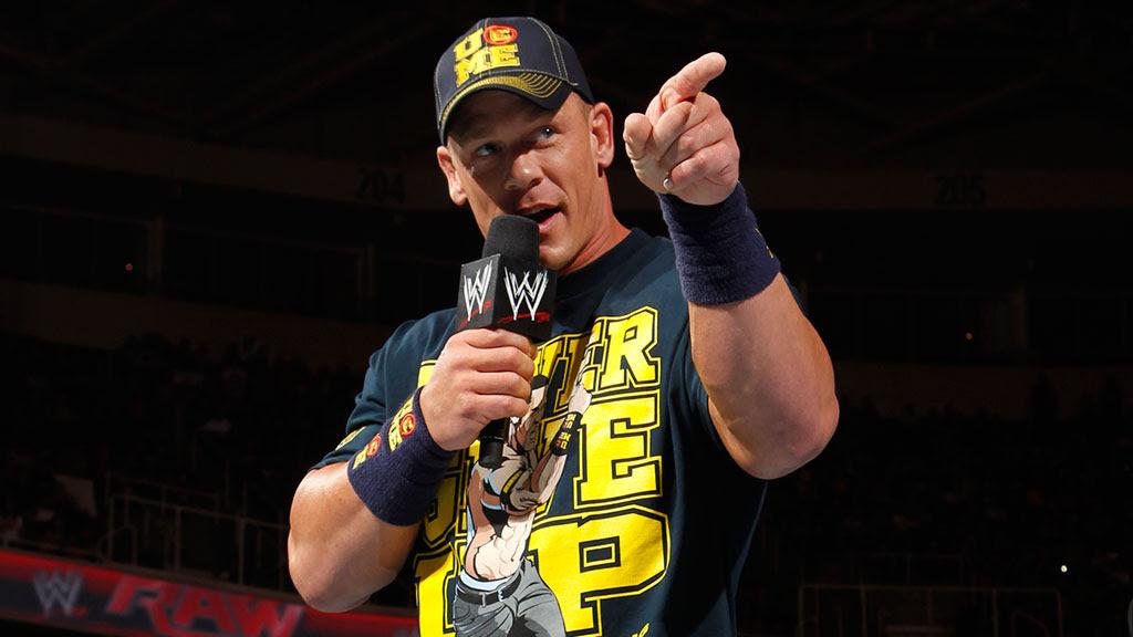 Jak przedstawia się obecny grafik Johna Ceny w WWE?