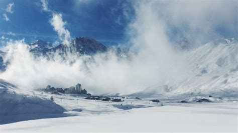 full hd wallpaper ski resort switzerland wind snow