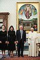 melania ivanka donald trump meet pope francis 02