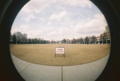 lawn closed