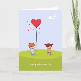 Valentine's Day card card