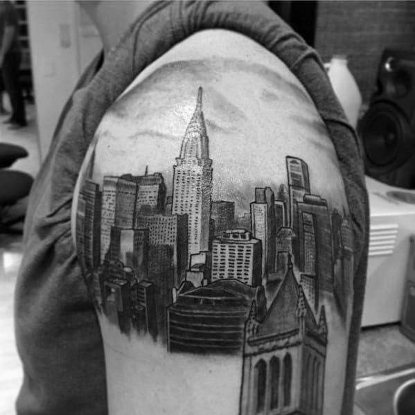 New York Travel Tattoo
