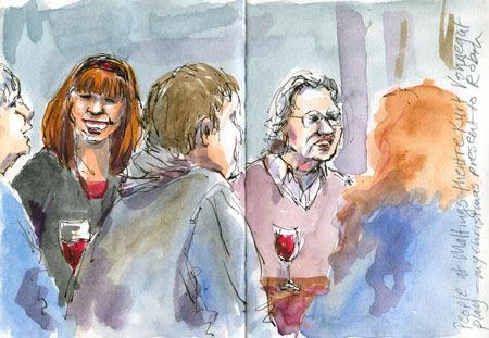 Maltings theatre audience