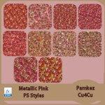 Metallic Pink PS Styles & Patterns