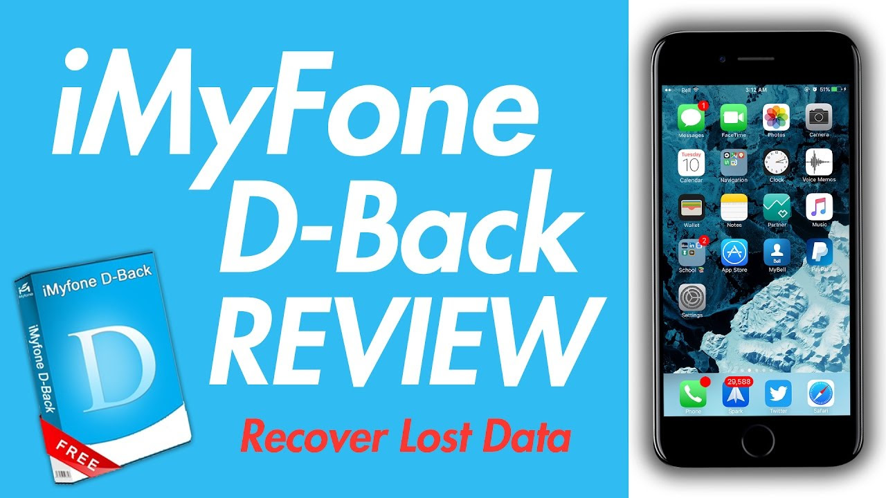 How to do iPhone Data Recovery  iMyFone DBack Review