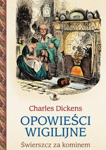 Okładka książki Opowieści wigilijne 2. Świerszcz za kominem
