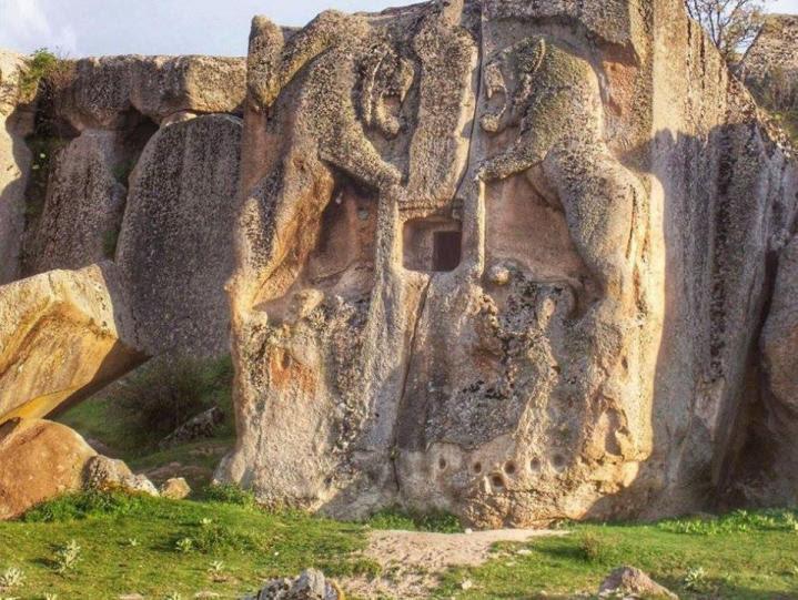 Phrygie falaisesculptee