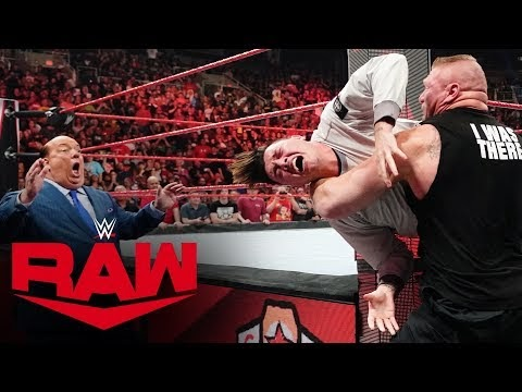 Brock Lesnar Mercilessly Attacks Rey Mysterio and His Son
