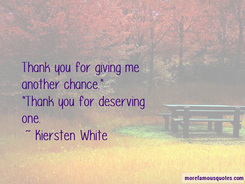 Quotes About Giving Him Another Chance Top 13 Giving Him Another