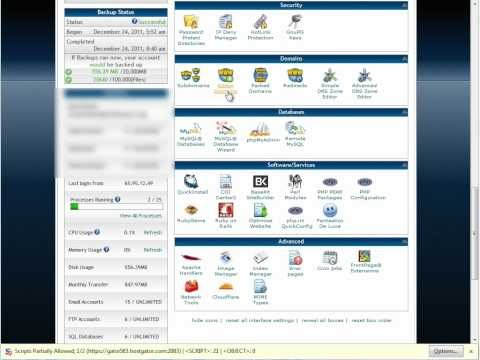 HOW TO HOST A WEBSITE ON HOSTGATOR