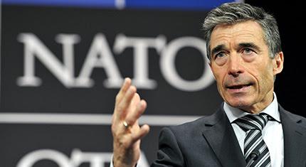 El secretario general de la Organización del Tratado del Atlántico Norte (OTAN), Anders Fogh Rasmussen