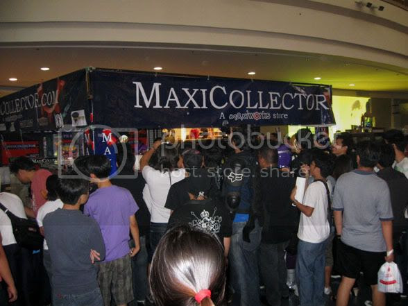 Maxicollector booth