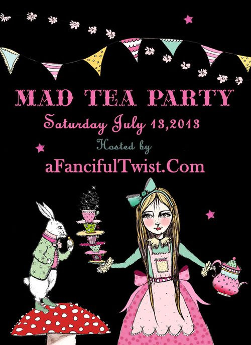 A Fanciful Twist Mad Tea Party Invite
