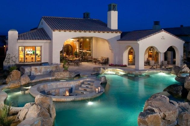 40 Fancy Swimming Pools for Your Home - You Will Want to Have Them Im…