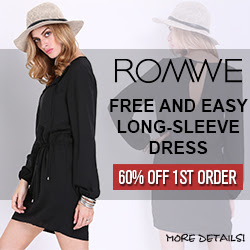 Romwe Long-Sleeve