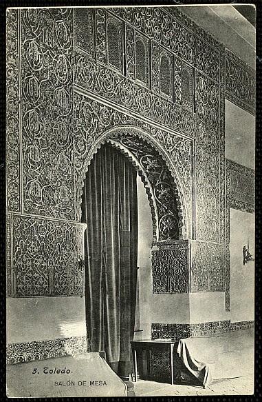 Casa de Mesa hacia 1900. Foto Lacoste
