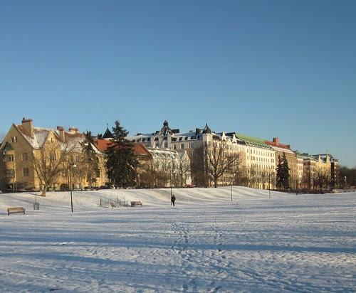 Helsingin talvi by Anna Amnell