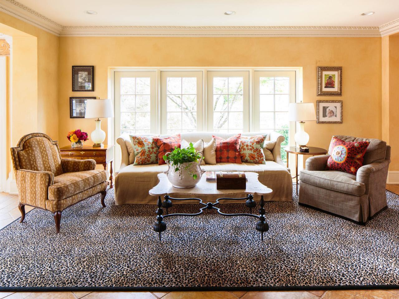 Leopard Print Living Room Decor - Zion Star