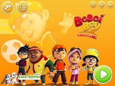 Boboiboy Halilintar Coloring Pages