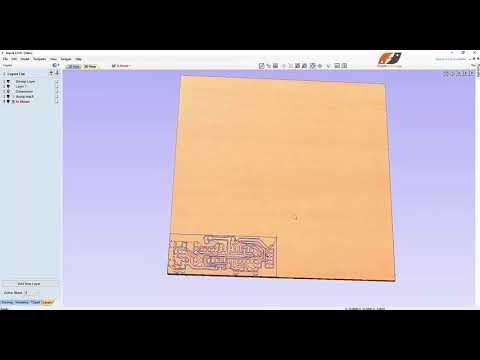 Hướng dẫn chi tiết phay PCB mạch in máy CNC bằng phần mềm ASPIRE