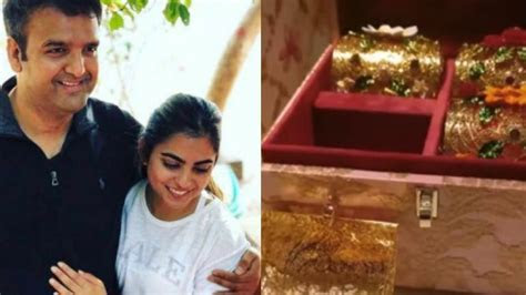 Isha Ambani and Anand Piramal wedding invite is all things