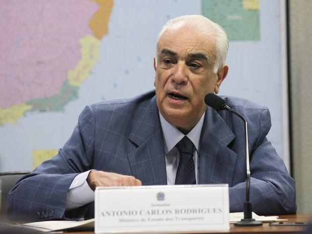 Ministro dos Transportes, Antonio Carlos Rodrigues (Foto: André Corrêa/Agência Senado)
