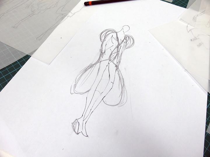 typicalben fashion design drawings
